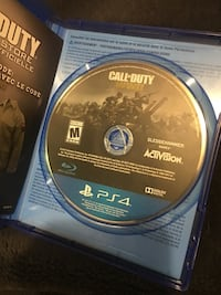 Call of Duty Advanced Warfare PS4  Brampton, L6W