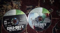Call Of Duty Black Ops 1 and 2, $25 a pice or 45 for both