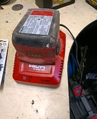 Hilti battery and charger