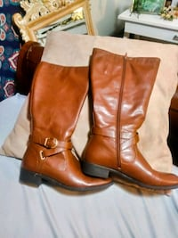 Bass extended/wide calf Riding boots Size 10 2359 mi