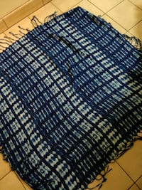 women's blue scarf with fringe Toronto, M1H 2H1