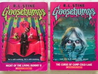 GOOSEBUMPS (14) Books 10 new/4 used  Washington, 20012