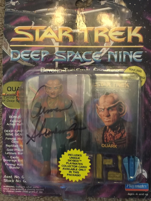 Star trek episode 1 action figure