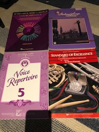 Voice repertoire music books Surrey, V3W 1T7