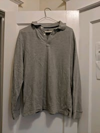 RTY long sleeve top, light gray, size L,  Philadelphia, 19119