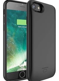 iPhone 6s/6 Battery Case, 4000mAh Portable Charger Case Ultra-Thin Rechargeable Extended Battery Pack Protective Backup Charging Case Cover for Apple iPhone 6s/ 6(4.7 Inch) (black) 歐文, 92606