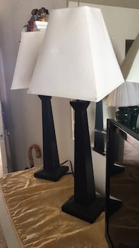white and black table lamp Torrance, 90501