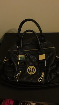 black Michael Kors leather 2-way handbag Alexandria, 22306
