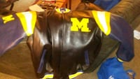 black and yellow leather jacket Muskegon, 49442