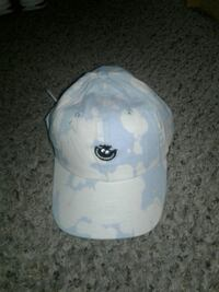 Blue and white neff adjustable hat