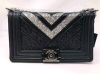 black and gray leather wallet Charlotte, 28262