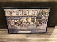 Cafe français painting
