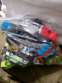 Lot of 20 toy cars