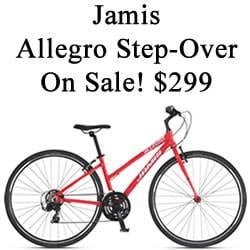 *NEW* Bicycle Clearance Time - Jamis Allegro Step-Over $299