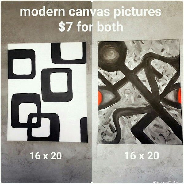 Modern canvas pictures