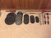 150 pound weight set Mc Lean, 22101