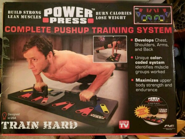 Maximum Fitness Gear Power Press Push Up - Complet