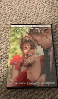 About time movie DVD