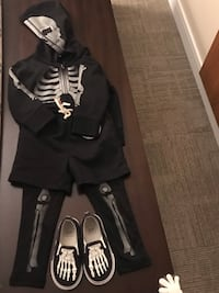 Gap halloween costume with shoe..for toddler 3 years.. Montréal, H3E