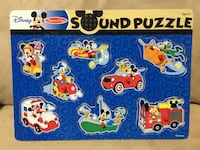 Mickey Mouse peg puzzles - $10 Pickering