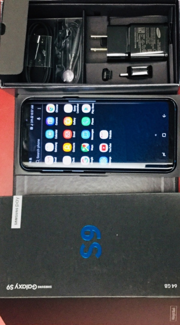 SAMSUNG GALAXY S9 - 64GB - FACTORY UNLOCKED - WORKS WITH ANY CARRIER-  EXCELLENT CONDITION - CREDIT CARD ACCEPTED!