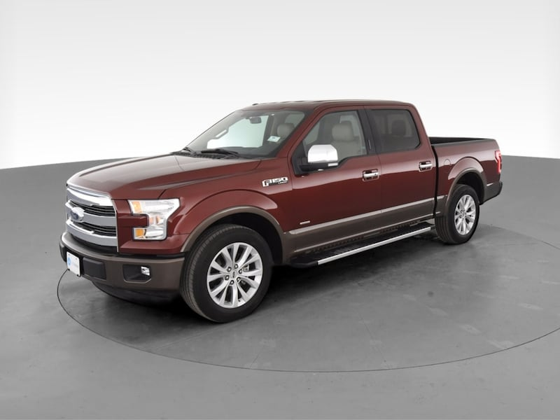 2017 Ford F150 SuperCrew Cab pickup XLT Pickup 4D 5 1/2 ft Red  530fb679-be2d-49ee-b353-4d14cfbeee7f