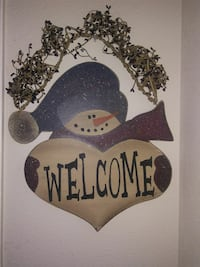 Welcome snowman picture