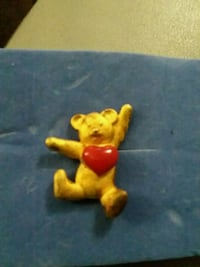 Teddy Bear with Heart  Pin Fort Riley, 66442