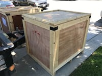 Wooden Storage or Shipping Crates Palmdale, 93550