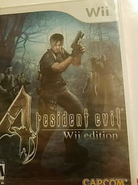 Wii 4 Resident Evil Wii Edition Not Opened Buford, 30518
