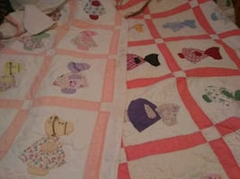 Two twin quilts
