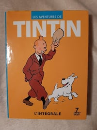 Tintin integrale de tous les films d'animations  6450 km