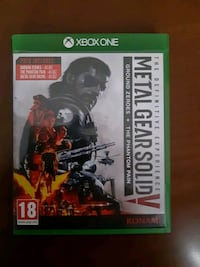 Xbox one oyun Metal gear solid 5 (definetive exper