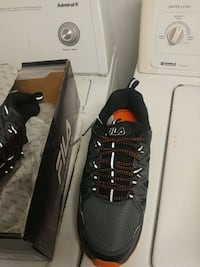 pair of black-and-gray fila running shoes Lawrenceville, 30044