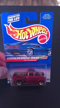 HOTWHEELS CIRCUS ON WHEELS 56 FLASHSIDER Hubert, 28539