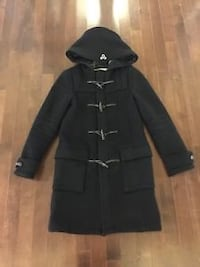 TNA DEERFIELD WOOL COAT IN BLACK Burnaby