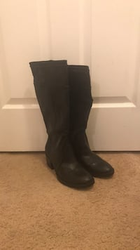 NWT Knee-High Black Boots Clarksburg, 20871