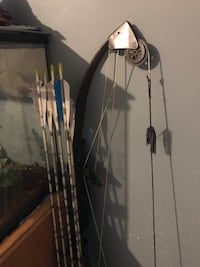 black and white compound bow Annapolis