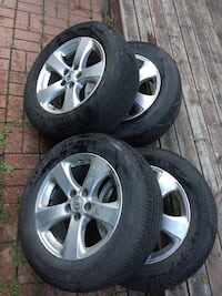Toyota Sienna rims and tires  Mississauga, L5A