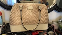 brown leather 2-way handbag Toronto, M3M 1S6
