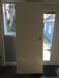 2- 30x80 doors with hardware. 10$ each Toronto, M8V 2H7