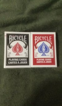 Black and Red Bicycle Playing Cards Brampton, L6R
