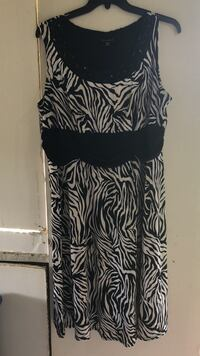 true envy  dress  size 20 wp black and white Birmingham, 35214