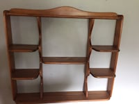 Large wall shelf w/ plate grooves Green Bay, 54303