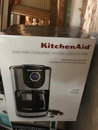Kitchen aid new glass carafe coffee maker  Taneytown, 21787