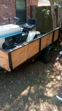 4x8 trailer new board all around with new paint Waco, 76705