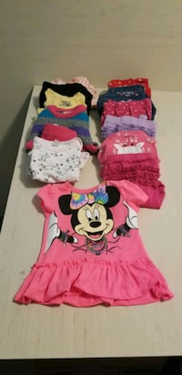 Girl clothes - 6-12 months - selling all together