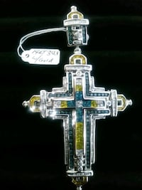 silver and gold-colored pendant McAllen, 78501