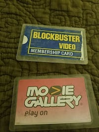 blockbuster video and movie gallery cards Ringgold, 30736