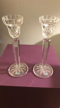 Crystal Candle Holders New York, 11375